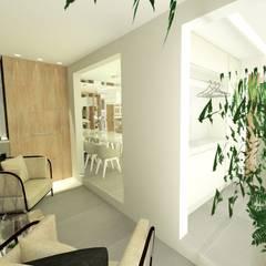 Sacada: Jardins de inverno minimalistas por Studio All Arquitetura