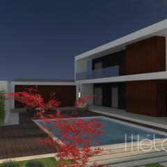 Garden Pool by Método-Arquitectura & Decoração