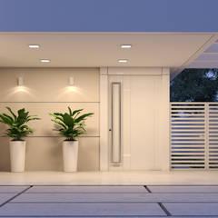 Residência FS: Condomínios  por Danilo Medeiros Arquitetura + Design