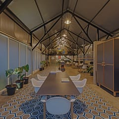 M9 Workspace:  Offices & stores by M9 Design Studio