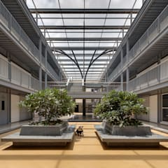 CMR University - Admin and Academic Block:  Schools by M9 Design Studio