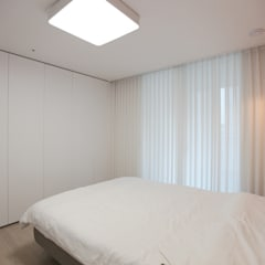 컬러감이 돋보이는 싱그러운 집, 배곧 한라비발디 2차 29py _ 이사 후: 홍예디자인의  침실