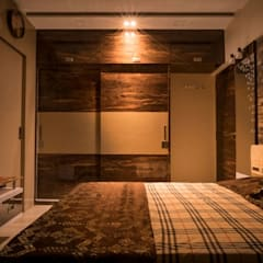 Bedroom Interiors: asian Bedroom by MADE AFTER DESIGN LLP