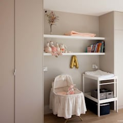 Baby room by Atelier Sylvie Cahen