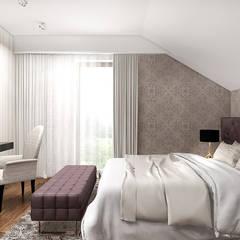 PEARL OF WISDOM   Wnętrza domu: styl , w kategorii Sypialnia zaprojektowany przez ARTDESIGN architektura wnętrz