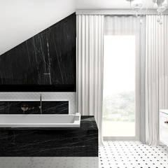 PEARL OF WISDOM | Wnętrza domu: styl , w kategorii Łazienka zaprojektowany przez ARTDESIGN architektura wnętrz