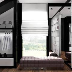 PEARL OF WISDOM | Wnętrza domu: styl , w kategorii Garderoba zaprojektowany przez ARTDESIGN architektura wnętrz
