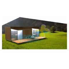 3D Exemplo: Casas de campo  por Clix Mais
