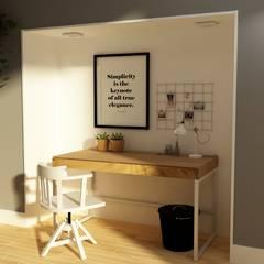Study/office by Bis-bis Design Studio