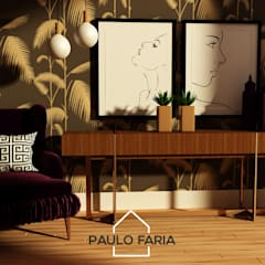 الممر والمدخل تنفيذ Paulo Faria Design