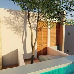 : Albercas de jardín de estilo  por Pangea Arquitectura & diseño