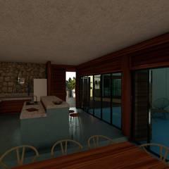 : Muebles de cocinas de estilo  por Pangea Arquitectura & diseño