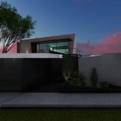 : Casas multifamiliares de estilo  por Pangea Arquitectura & diseño