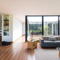 Casa el Molino: Salas de estilo  por David Macias Arquitectura & Urbanismo,
