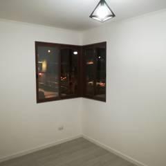 Dormitorio seguno piso: Dormitorios de estilo  por MSGARQ