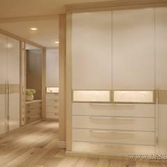 Dressing room by студия Design3F