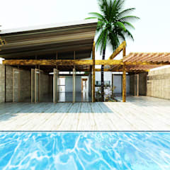 Swimming pond by Fstudio Arquitectura