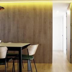 Casa JB en Murcia: Paredes de estilo  de 2J Arquitectura