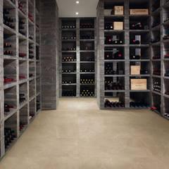 minimalistic Wine cellar by Zenth S.A. de C.V