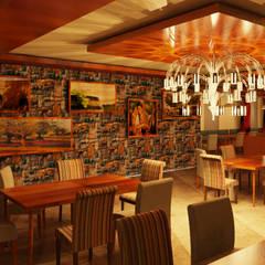 COMEDOR - RESTAURANTE: Comedores de estilo  por Karla Alvarez - Arquitectura de Interiores