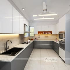 Kitchen:  Built-in kitchens by Shuffle pages