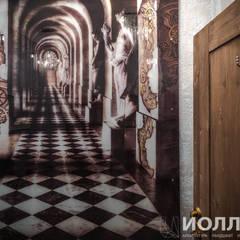 Декоративное панно в туалетной комнате: Бары и клубы в . Автор – Архитектурно-производственная группа ИОЛЛА