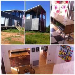 Casas unifamiliares de estilo  por Casas del Girasol- arquitecto Viña del mar Valparaiso Santiago , Rústico