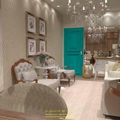 Galerías y espacios comerciales de estilo  por Juliana Saraiva Arquitetura & Interiores