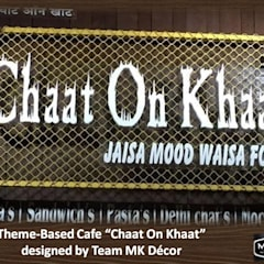Chaat On Khaat Fusion Cafe Designed by Team MK Decor:  Hotels by MK Decor