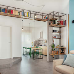 Cocinas a medida  de estilo  por manuarino architettura design comunicazione