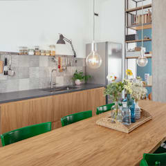 Dining room by manuarino architettura design comunicazione, Industrial Wood Wood effect