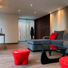Estar: Livings de estilo minimalista por Horizontal Arquitectos