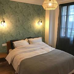 Rénovation appartement Colombes: Chambre de style de style eclectique par C'Design architectes d'intérieur