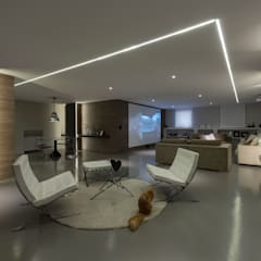 Media room by GIAN MARCO CANNAVICCI ARCHITETTO, Modern