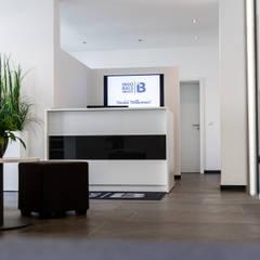Empfangsbereich:  Bürogebäude von FH-Architektur