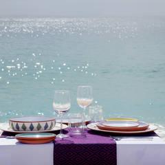 DINNING EXPERIENCE FOR LAS VENTANAS : Restaurantes de estilo  por Progressive Design Firm, Clásico