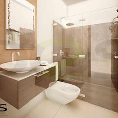 سرویس بهداشتی by DOS Arquitectura y construcción
