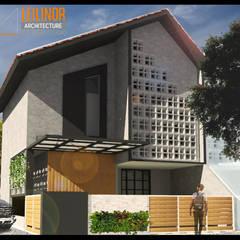 :  Rumah tinggal  by CV Leilinor Architect