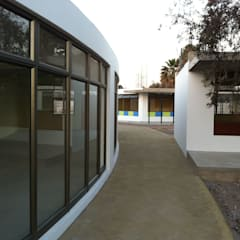 COLEGIO AZAPA VALLEY- ARICA: Estudios y biblioteca de estilo  por AOG