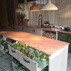 Muebles de cocinas de estilo  por Luísa Nascimento - Homify
