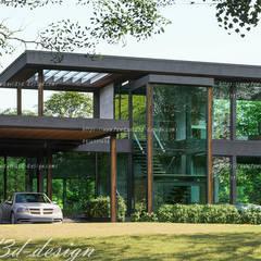 منزل عائلي صغير تنفيذ fewdavid3d-design , حداثي