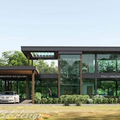 Single family home by fewdavid3d-design, Modern