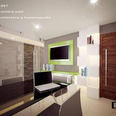 Proyecto Arcos, Zona expo: Estudios y oficinas de estilo  por DOS Arquitectura y construcción,