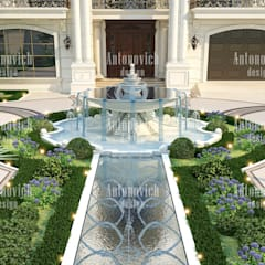 House Design in Miami of Katrina Antonovich: classic Houses by Luxury Antonovich Design