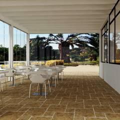 Albergo Ristorante Casablanca: Bar & Club in stile  di Avantgarde Construct Luxury Srl