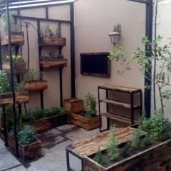 hUERTO ESTAFETA: Casitas de jardín de estilo  por Ambient Natura