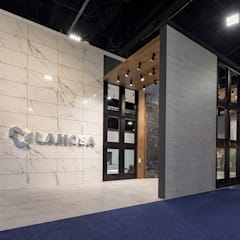 Stand Coverings: Centros de exhibiciones de estilo  por Local 10 Arquitectura