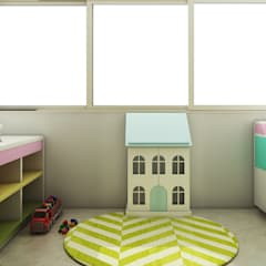 Residence Interiors:  Nursery/kid's room by Spaces Alive