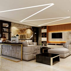 Living room by Spaces Alive