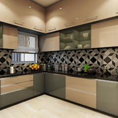 modern Kitchen by Spaces Alive